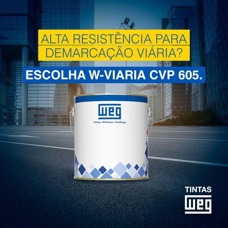 TINTA WEG WEGVIÁRIA CVP 605 - 334