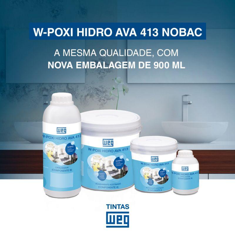 TINTA WEG W-POXI HIDRO AVA 413 NOBAC - 900 mL - 391
