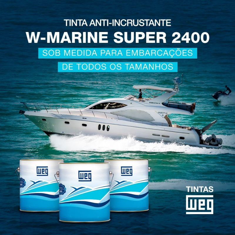 TINTA WEG W-MARINE SUPER 2400 - 382